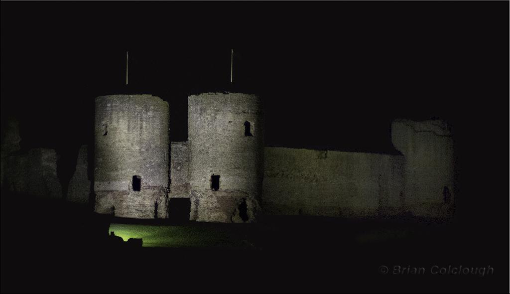 Castle - lights